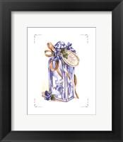 Framed Violet Water