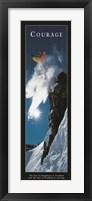 Framed Courage-Snowboard