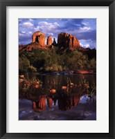 Framed Cathedral Rock