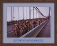 Framed Believe - Marathon Runners