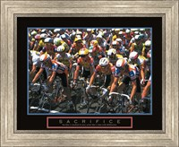 Framed Sacrifice - Starting Line Bicycle Race
