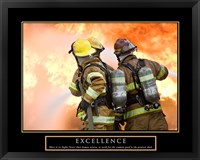 Framed Excellence - Three Firemen