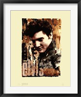 Framed Elvis Slick