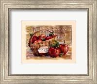 Framed Fruit Stand Apples