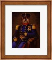 Framed General K. Nine