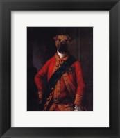 Framed Sir Walter Bark