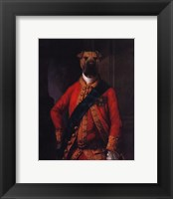 Sir Walter Bark Framed Print