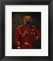 Framed Major-General Woof