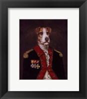Framed Master Rufus De Terrier