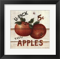Framed U-Pick Apples
