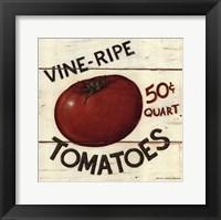 Framed Vine Ripe Tomatoes