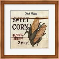 Framed Fresh Picked Sweet Corn