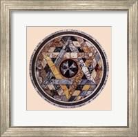 Framed Interlocking Star