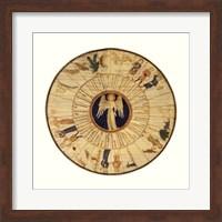 Framed Astrological Chart I