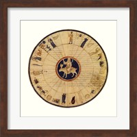 Framed Astrological Chart II