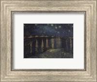 Framed Starlight Over The Rhone, 1888