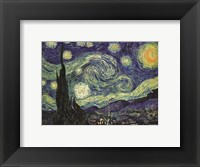 Framed Starry Night
