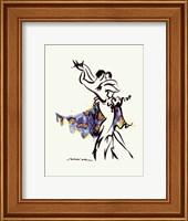 Framed Tango Moonlight