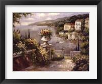 Framed Capri Vista II