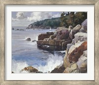 Framed Rocky Coast