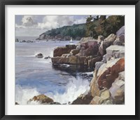 Framed Rocky Coast