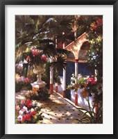 Garden Atrium l Framed Print