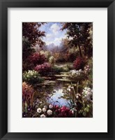 Framed Reflections Of Spring