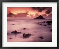 Framed Hana Coast Sunrise
