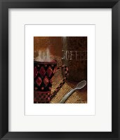 Framed Still Life with Coffee II