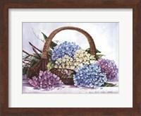 Framed Hydrangea Arrangement