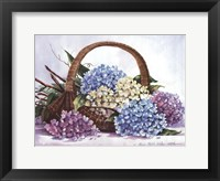 Framed Hydrangea Arrangement