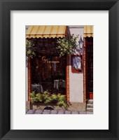 Framed Cafe Legend