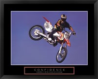 Framed Confidence - Motorbiker