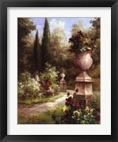 Framed Secret Garden Path