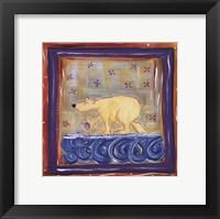 Framed Paul The Polar Bear