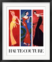 Framed Haute-Couture IV (Three Up)