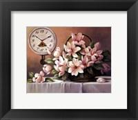 Framed Spring Magnolias