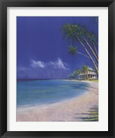 Framed Bahama Cove