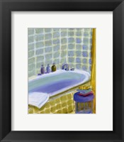 Framed Porcelain Bath ll