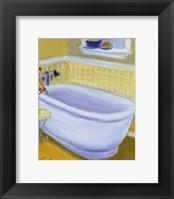 Framed Porcelain Bath l