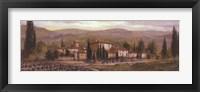 Framed Uzzano Pano