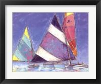 Framed Saucy Sails