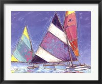 Framed Saucy Sails
