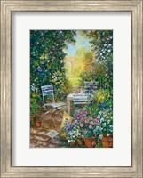 Framed Artist's Corner