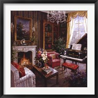 Framed Grand Piano Room