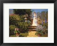 Framed Secluded Garden