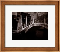 Framed Canal Bridge