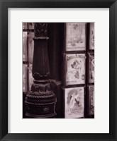 Framed Montmartre Art