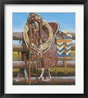 Framed Sagebrush Ranch