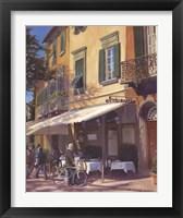 Framed Cafe Capri II